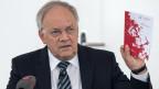 Bundesrat Johann Schneider-Ammann an der 3. Nationalen Konferenz zum Thema «Ältere Arbeitnehmende» in Bern.