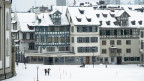 Schnee in St. Gallen. Archivbild.