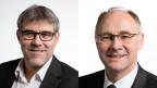 Eric Nussbaumer, Nationalrat SP (links im Bild); Hansjörg Knecht, Nationalrat SVP.