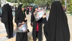 Wahlkundgebung für den erzkonservativen Raisi in Teheran.