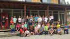 Die beiden Klassen in der Schule in Aarburg