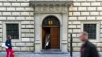 Der Eingang zum Regierungsgebäude des Kantons Luzern.