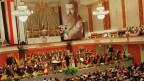 Feier zu «100 Jahre Zionistenkongress» im Stadtcasino Basel am 31. August 1997.
