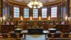 Im Grossen Saal des Bundesgerichts von Lausanne.