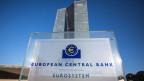 Das Gebäude der EZB in Deutschland.