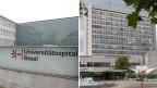 Das Universitätsspital Basel und das Kantonsspital Baselland auf dem Bruderholz (links).