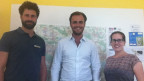 Das Home-Treatment-Team: Oberarzt Philipp Stix, Assistenz-Arzt Marcus Draeger und Cornelia Baltis Fachexpertin Pflege (v.l.n.r.).