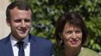 Staatspräsident Macron (links), Bundespräsidentin Leuthard (rechts)
