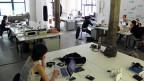 Co-Working-Büro in Bernlin.