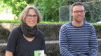 Franziska Feller, Gründerin des Netzwerks «Hofkonflikt» und Simon Gasser, Agrarwissenschafter.