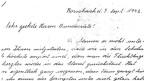 Auszug aus dem Brief, den Rosmarie de Lucca 1942 dem Bundesrat geschrieben hat.