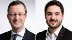 Peter Keller, Nationalrat der SVP des Kantons Nidwalden (links) und Cedric Wermuth, Nationalrat der SP des Kantons Aargau.