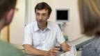Beratung eines Paares mit Kinderwunsch durch Dr. von Wolff, an der Abteilung für Reproduktionsmedizin des Inselspital Bern.