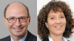 Marc Chardonnens, Direktor Bundesamt für Umwelt und Barbara Egger-Jenzer, Berner Baudirektorin.