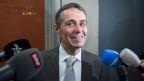 Bundesratskandidat Ignazio Cassis, FDP-TI, am Hearing mit der Bundeshausfraktion der SP Schweiz, am 19. September 2017 in Bern.