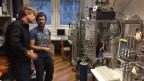 Im Labor des physikalischen Instituts der Universität Bern. Bild. Thomas Häusler.