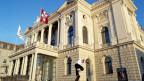 Das Operhaus in Zürich.