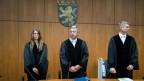 Richter im Gerichtssaal anlässlich der Verhandlung im Spionageprozess gegen mutmasslichen Schweizer Spion.