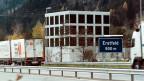 Der «Ort der Besinnung» an der Gotthard-Raststätte an der Autobahn A2 in Erstfeld.