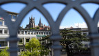 Sicht auf die Kathedrale der Stadt Lausanne. Symbolbild.