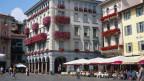 Bankenplatz Tessin. Symbolbild.
