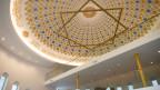 Blick auf die Kuppel im Islamischen Begegnungszentrum Wil. Symbolbild.