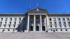 Das Bundesgerichtsgebäude in Lausanne.