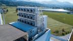 CO2-Abscheidungsanlage der Firma Climeworks in Hinwil.