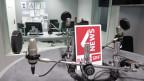 Das Studio von SRF 4 News ist leer