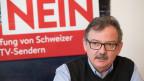 Nur ein Nein am 4. März könne verhindern, dass es in der Schweizer Medienlandschaft zu einem Kahlschlag komme, sagt der Direktor der Schweizer Journalistenschule MAZ, Diego Yanez.