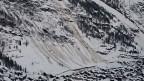 Schlammlawine in Zermatt.