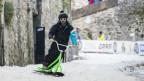 Snowboarden in den Gassen - Esta Snow