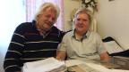 Hanspeter Bobst, 71, mit seiner Lebenspartnerin.