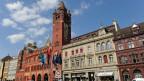 Das Rathaus in Basel.