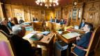 Sitzung des Bundesrates. Archivbild vom 1. November 2017.