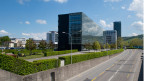 Neues Bürogebäude in Zug. Symbolbild.