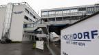Fabrik und der Hauptsitz des Milch- und Pulvernahrungsmittelproduzenten Hochdorf Holding.