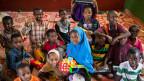 Flüchtlingskinder aus Äthiopien.