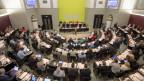 Das Luzerner Parlament während der Kantonsratssitzung, am 11. September 2017.