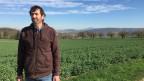 Bauer Ruedi Brunner will den Salzabbau verhindern. Er wird von Parteien und Naturschützern unterstützt. Bild: Patrick Künzle.
