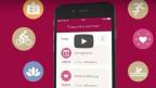 Mit der Helsana+ App gibt es Barauszahlungen und vorteilhafte Angebote. Bild: Helsana.