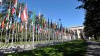 Uno-Gebäude in Genf.