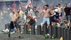 Gewaltbereite Fussballfans an der Endrunde der Europameisterschaft 2016 in Marseille. Symbolbild.