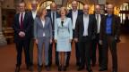 Die Mitglieder der Zürcher Stadtregierung.