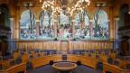Blick in den Ständeratssaal im Bundeshaus.
