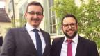 Imam Muris Begovic (links) und der Zürcher Rabbiner Noam Hertig tragen ausgezeichnet zur Verständigung bei.