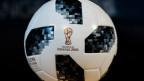 Offizieller Fussball der WM in Moskau 2018.