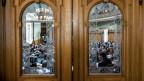 Blick un den Nationalratssaal.
