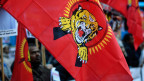 Flagge der Liberation Tigers of Tamil Eelam.