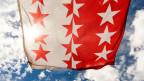 Symbolbild Walliser Fahne.